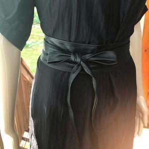 Accessories - Black Super Soft Wrap Belt